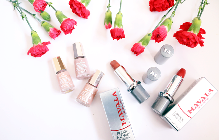 Valentine's Day Makeup with Mavala: Review & Swatches