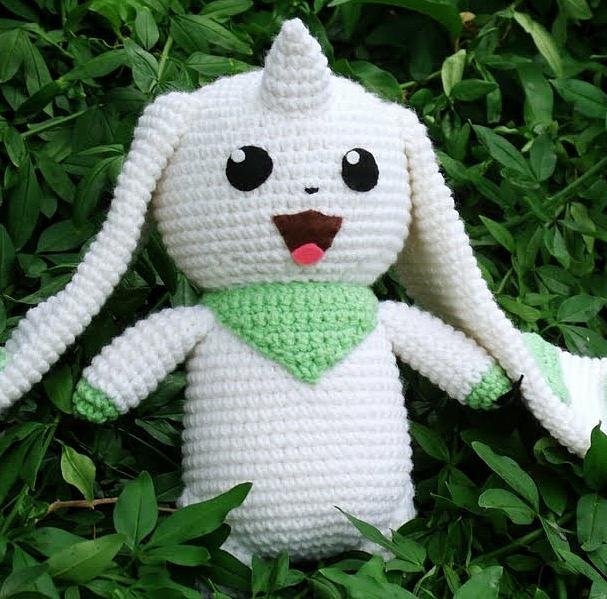I've been designing baby Digimon amigurumi. Have some more crochet Digimon,  Reddit! : digimon   599x607