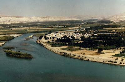 1. Barajdan önce Fırat Adaları