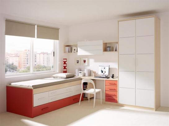 Decora el hogar modernos dormitorios juveniles femeninos for Muebles para dormitorios chicos