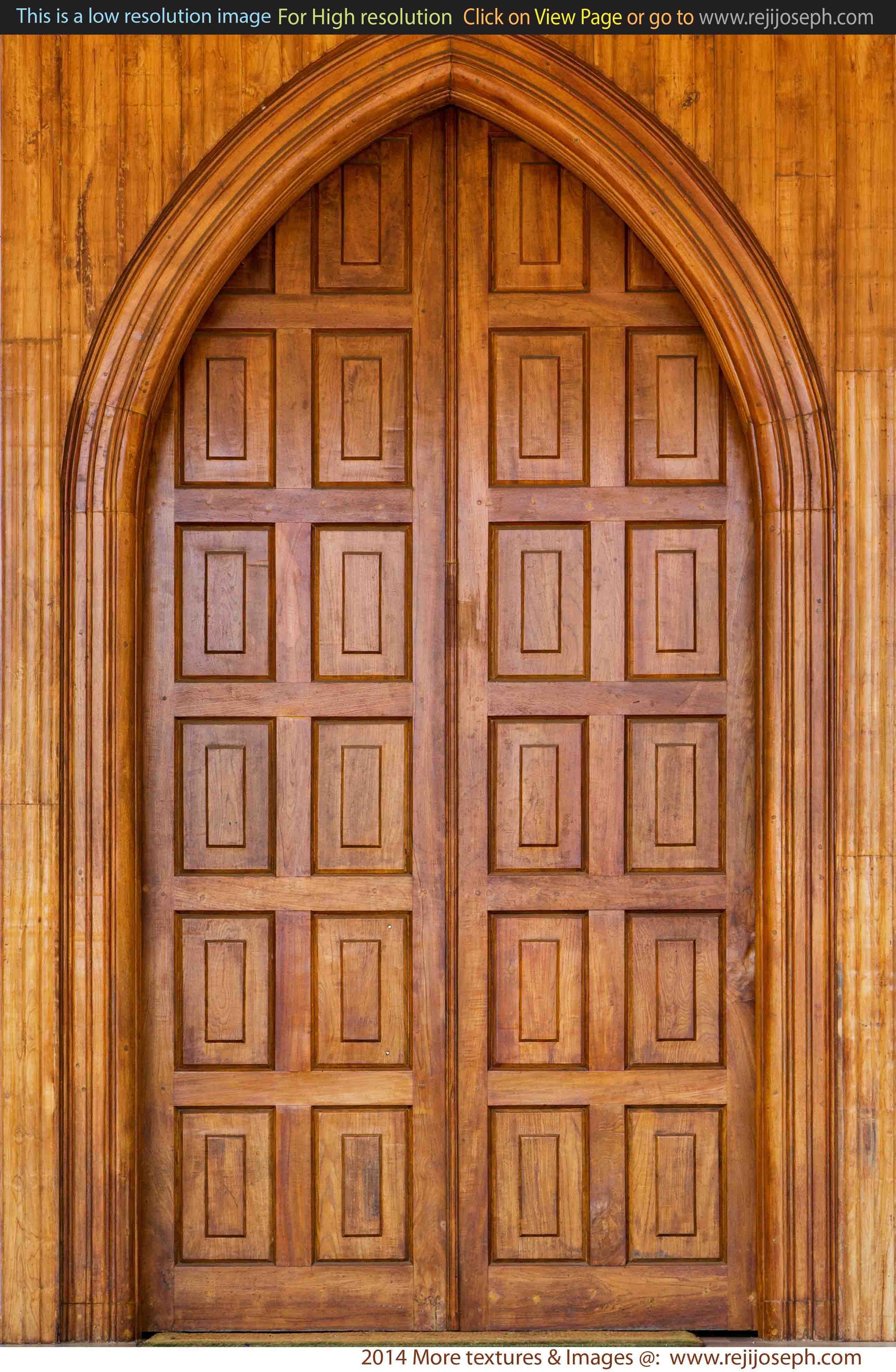 Wooden door texture 00006
