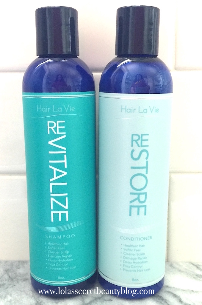 healthy hair shampoo and conditioner
