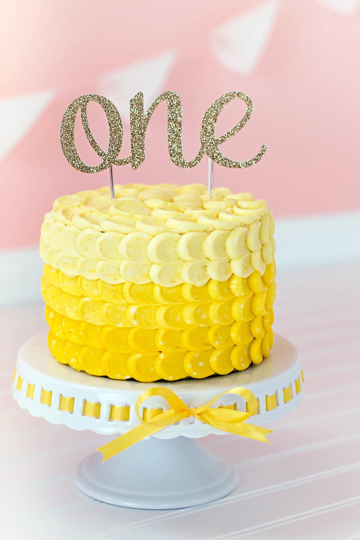 The Arbitrary Fox Islas First Birthday Cake Smash