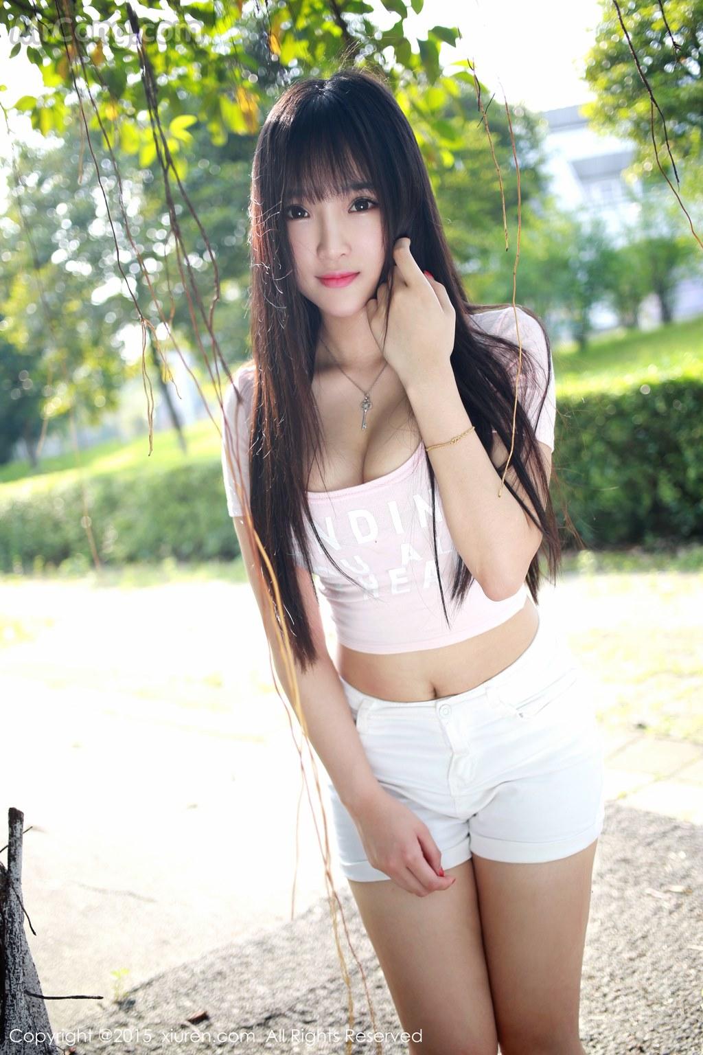 MrCong.com XIUREN No.345 Xia Yao baby 010 - XIUREN No.345: Model Xia Yao baby (夏 瑶 baby) (43 pictures)