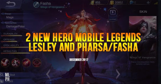 New 2 Mobile Legends Heroes for December (Patch)