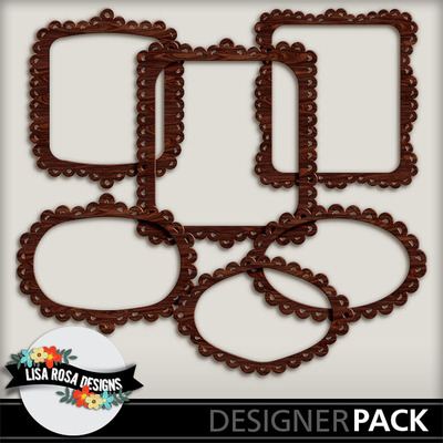 digital scrapbooking frames