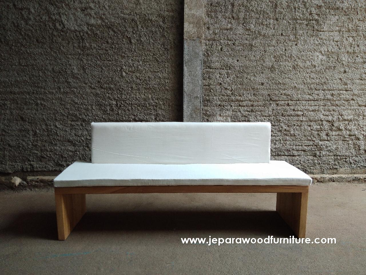Indonesia Teak Outdoor Bench Solid Furniture