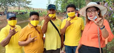 Relawan DA-DI dan Warga Desa Batang Harjo Mengadakan Mancing Gratis