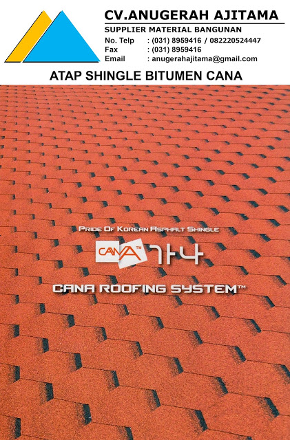 Atap Sirap Bitumen Cana