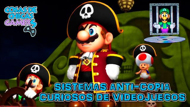 SISTEMAS ANTI-COPIA CURIOSOS DE VIDEOJUEGOS