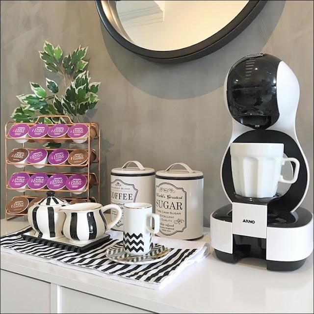 cantinho do café no escritório