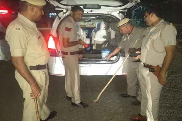 faridabad-police-night-domination-checking-1-november-news
