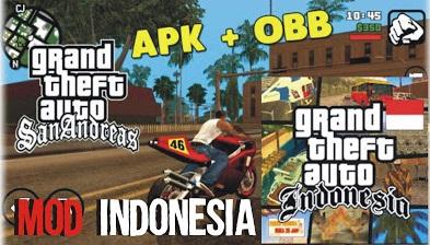 GTA San Andreas Lite MOD Indonesia APK All GPU + Data (200 MB)