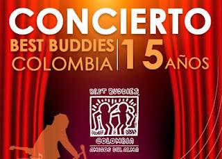 POS CONCIERTO Best Buddies Colombia