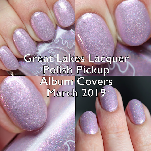 Great Lakes Lacquer Polish Pickup Album Covers March 2019