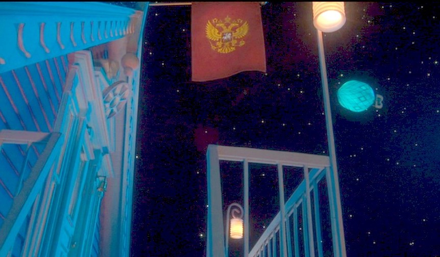 The Voice Of Vexillology Flags Heraldry Flags In The Moive Coraline 2009 The Russian American Circus In The Attick
