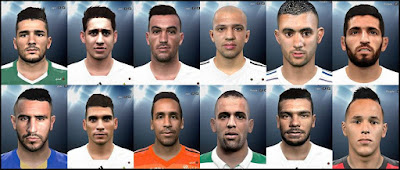 PES 2016 Big Algeria Facepack By DzGeNiO