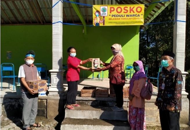 BPKB dan IMP Karangmojo Gelar Aksi Peduli ke Wilayah Terdampak Covid-19