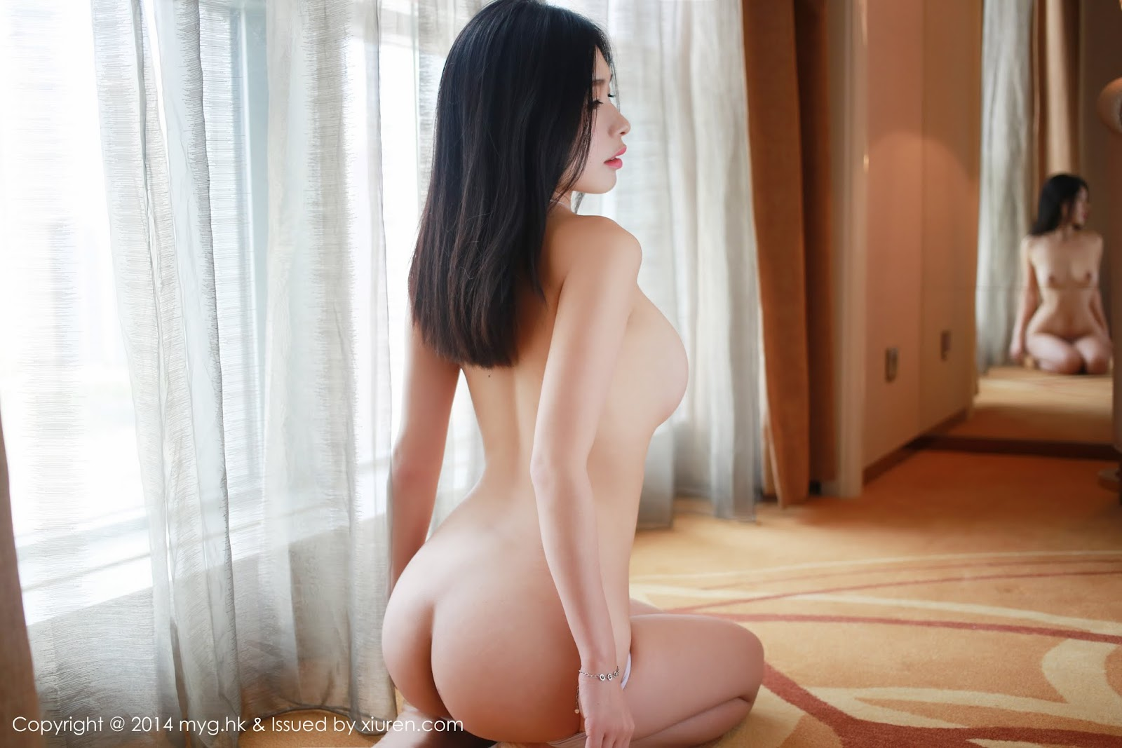0019 - Beautiful Naked Girl Model MYGIRL VOL.35