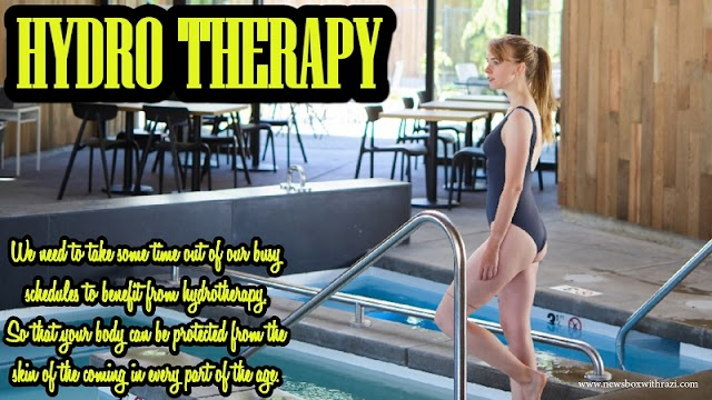 Hydro Therapy is the fastest way to mobilize your body