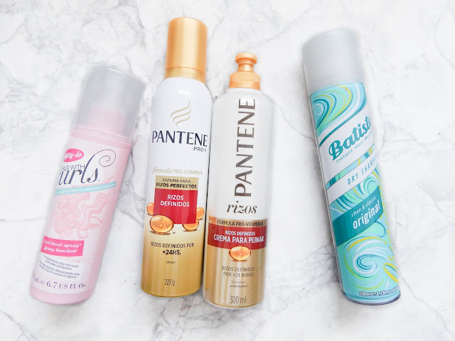 curly hair pantene batiste girl with curls