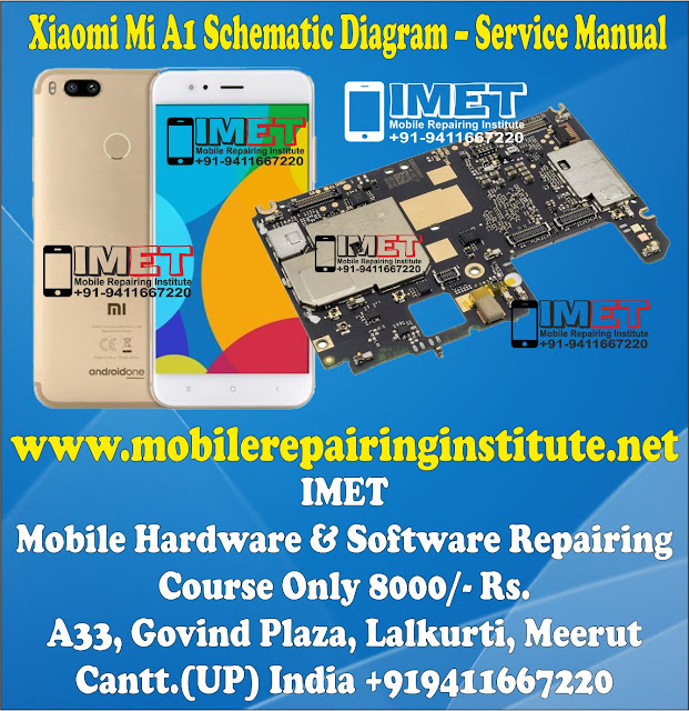 Xiaomi Mi A1 Schematic Diagram – Service Manual Download