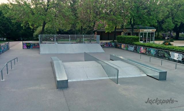 skate park porte d'orleans