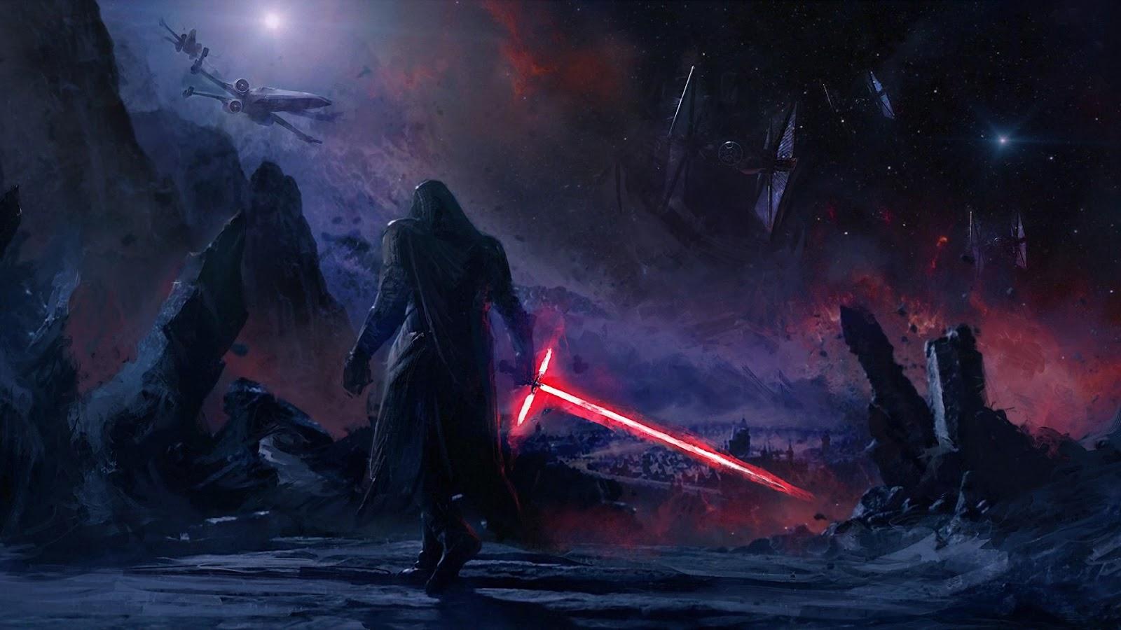 Star Wars The Last Jedi Kylo Ren Wallpaper 1920 X 1080