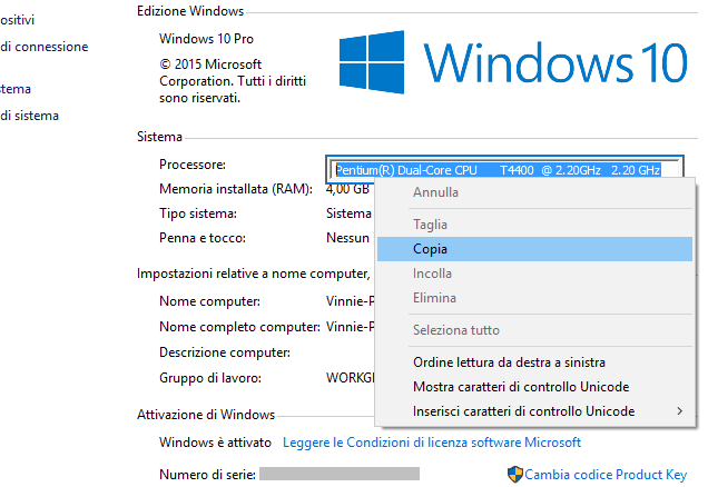 Copia testo con Textify su Windows