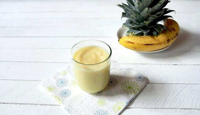 Koktajl ananas banan