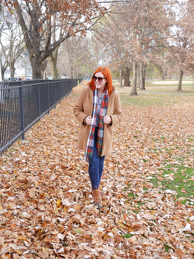 The best J.Crew Wool Coat for winter