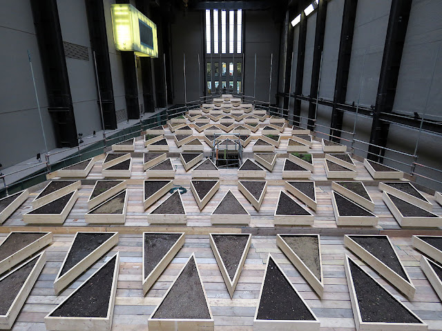 Empty Lot by Abraham Cruzvillegas, Turbine Hall, Tate Modern, London