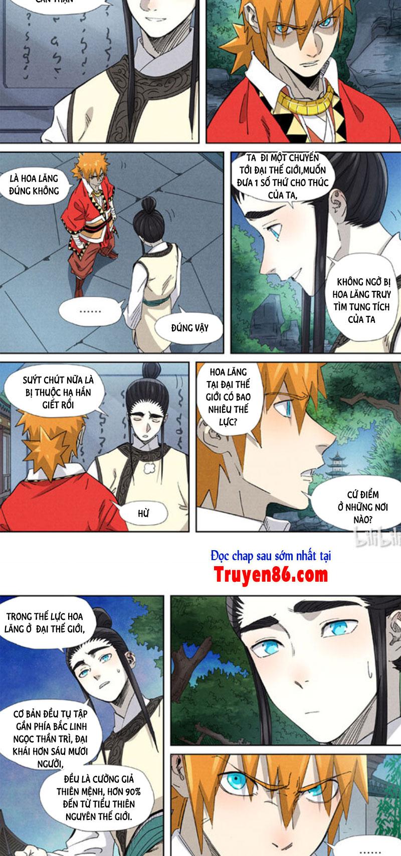 Yêu Thần Ký chapter 347.5 - Trang 5