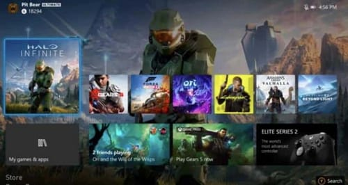 Xbox requires a dedicated media mode