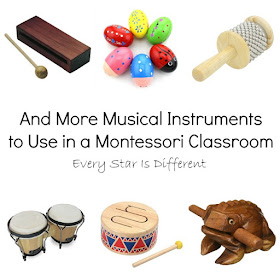 And More Musical Instruments to Use in a Montessori Classroom