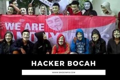 Ciri Hacker Bocah ( Hacker Palsu )