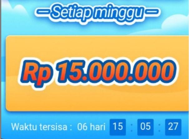 Cara Ikutan Event Terbaru Aplikasi Indo Today Penghasil Uang  Bagi Hadiah 15.000.000 Tiap Minggu