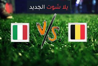 نتيجة مباراة ايطاليا وبلجيكا اليوم الجمعة 02-07-2021 يورو 2020