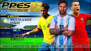 PES 6 MOD 2018 Android Offline 700 MB Best Graphics