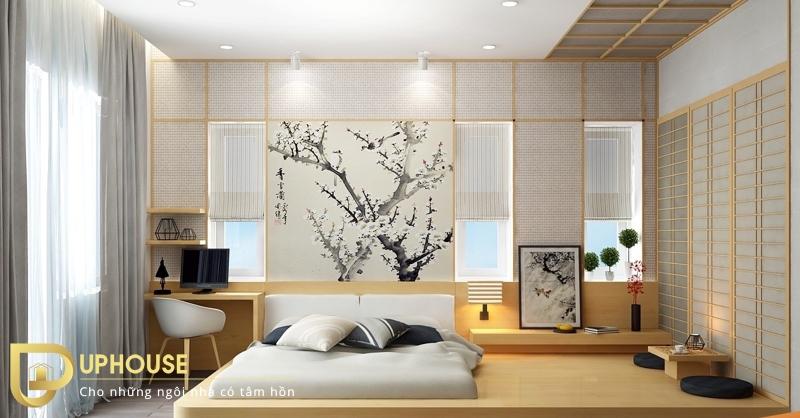 Phòng ngủ tối giản đẹp 10