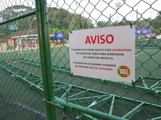 Esta obra faz parte das melhorias na infraestrutura que o Grêmio está  implementando em sua sede campestre. e40132449dc85