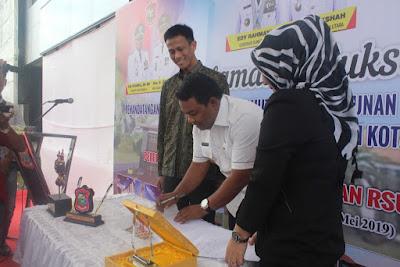 Kakankemenag Tanjungbalai Hadiri Acara Penandatangan MoU Pemko dengan PT. SMI
