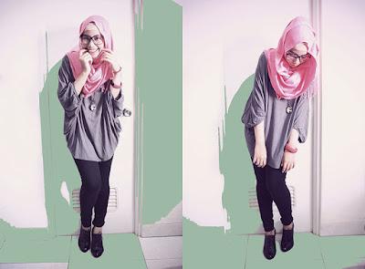 Fashion Hijab Untuk Orang Pendek 7