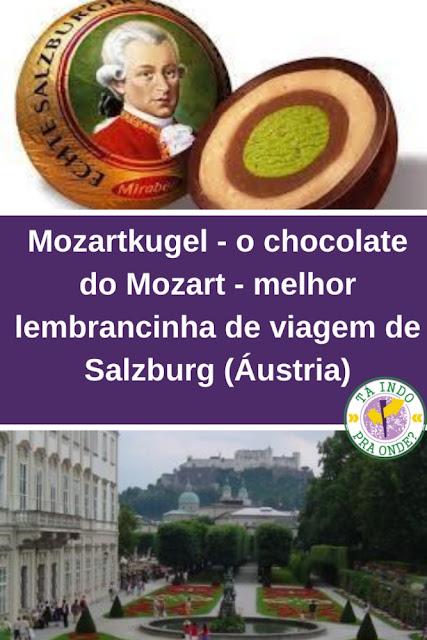 Mozartkugel - o chocolate do Mozart