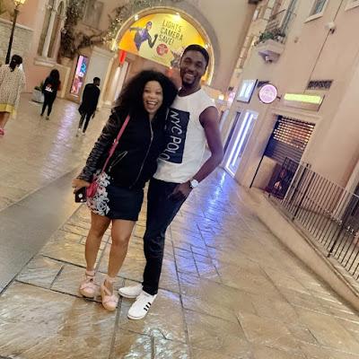 Adeniyi Johnson and Seyi Edun Shai latest photos