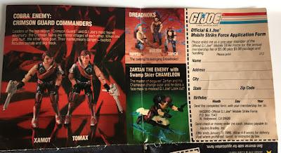 1985 Catalog, Tomax and Xamot, Zartan, Dreadnoks