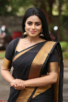 Poorna in Cute Backless Choli Saree Stunning Beauty at Avantika Movie platinum Disc Function ~  Exclusive 072.JPG