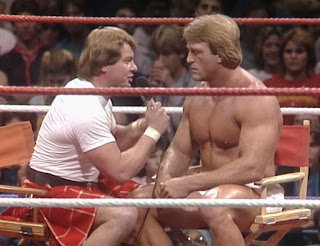 WWE / WWF Saturday Night's Main Event 1 (1985) - Paul Orndorff was a guest on Piper's Pit