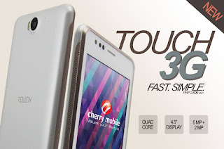Cherry Mobile Touch 3G, Quad Core Android KitKat for Php2,699