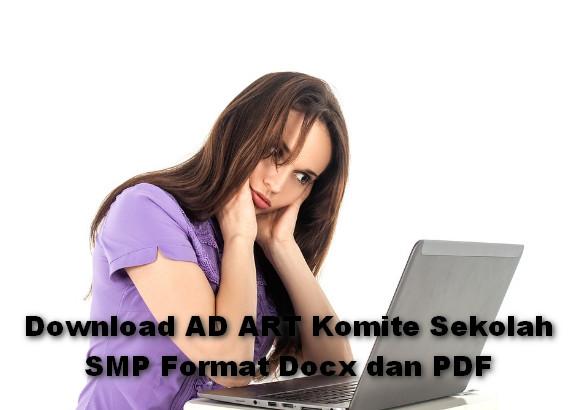 Download AD ART Komite Sekolah SMP Format Docx dan PDF